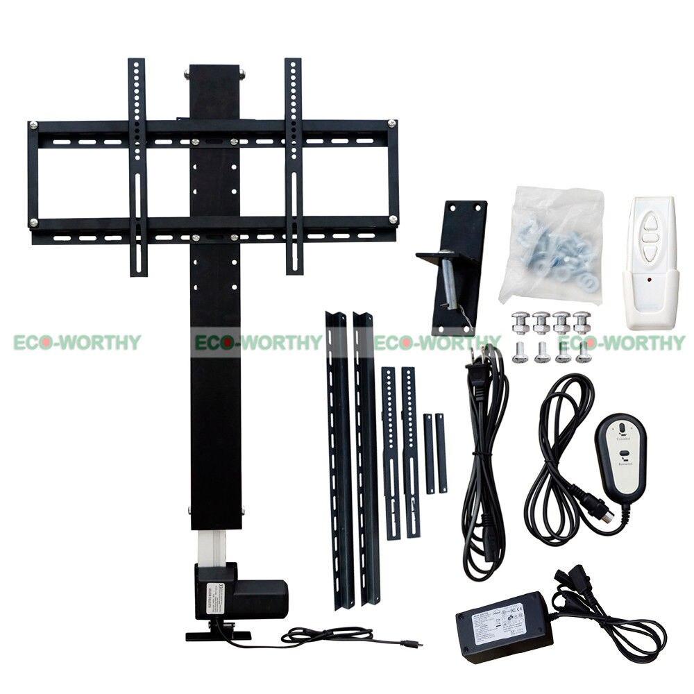 LCD TV Montage Automatique TV Ascenseur 28 pouce 100-240 v 25 mm/s LCD TV Mont W/À Distance et Supports De Montage pour La Maison