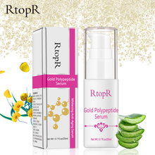 RtopR Gold Polypeptide Serum Argireline Repair Skin Anti-aging Hyaluronic Acid Whitening Face Skin Care Essence Anti Wrinkle gold polypeptide serum argireline repair skin anti aging hyaluronic acid whitening skin care essence face care anti wrinkle