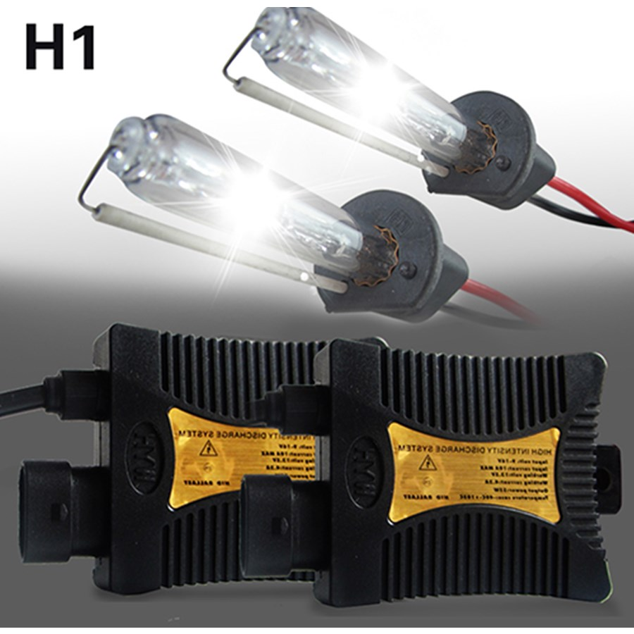 H1 HID Xenon Headlight Conversion KIT Bulbs Ballast Autos Car lights Lamp Automoveis 55W 4300K 5000K 3000K 10000K for Ford BMW 55w hid xenon kit black slim ballast conversion bulbs d2s 6000k headlight new [cpa189]