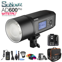 Godox AD600Pro 600Ws Embutido 2.4G Sistema X do Flash Ao Ar Livre Sem Fio TTL HSS & X1T C/N/F/ s/O Transmissor para Nikon Canon Sony Fuji|Flashes| |  -