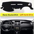 Taijs защитный коврик для приборной панели автомобиля Dacia Duster 2014-2017 левый руль авто приборная панель коврик крышка для Dacia Duster