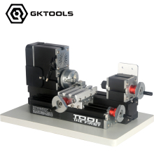12000RPM, 60W  Big Power Mini Metal Lathe Machine ,As DIY tool, it's the best gift for chirldren and students.