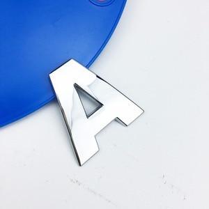 Image 4 - Letras de personalidade 3d em metal, emblema em metal adesivo de cromo insígnia para automóveis, acessórios para motocicletas