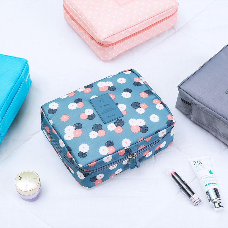 HJKL Multifunction travel Cosmetic Bag Toiletries Organizer Waterproof Female Storage Make up Cases Neceser Women Makeup Bags in Cosmetic Bags Cases from Luggage Bags