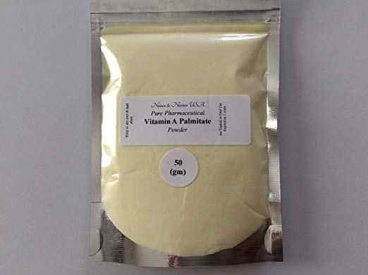 Vitamin a wrinkles retinyl palmitate Powder Fast absorption Antioxidant brown spots  increases skin collagen