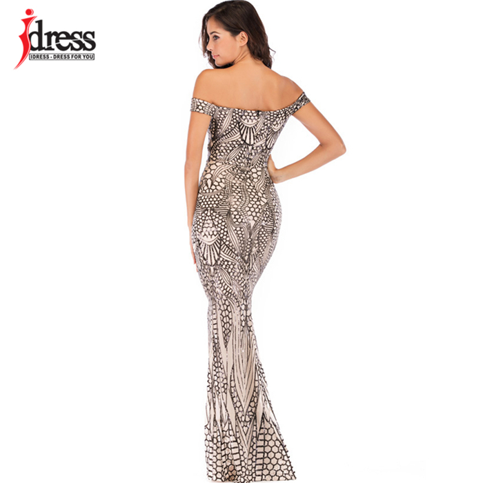HTB1 5eXbvfsK1RjSszbq6AqBXXax - IDress Sexy Sequined Long Summer Dress Elegant Off Shoulder Evening Party Dresses Women Long Dress Sexy Bodycon Maxi Dress