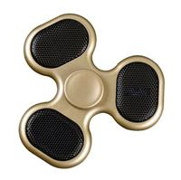 Bluetooth Audio LED Rechargeable Fingertips Gyro Fidget Hand Spinner Child Adult ADHD Spinner Fidget Toys