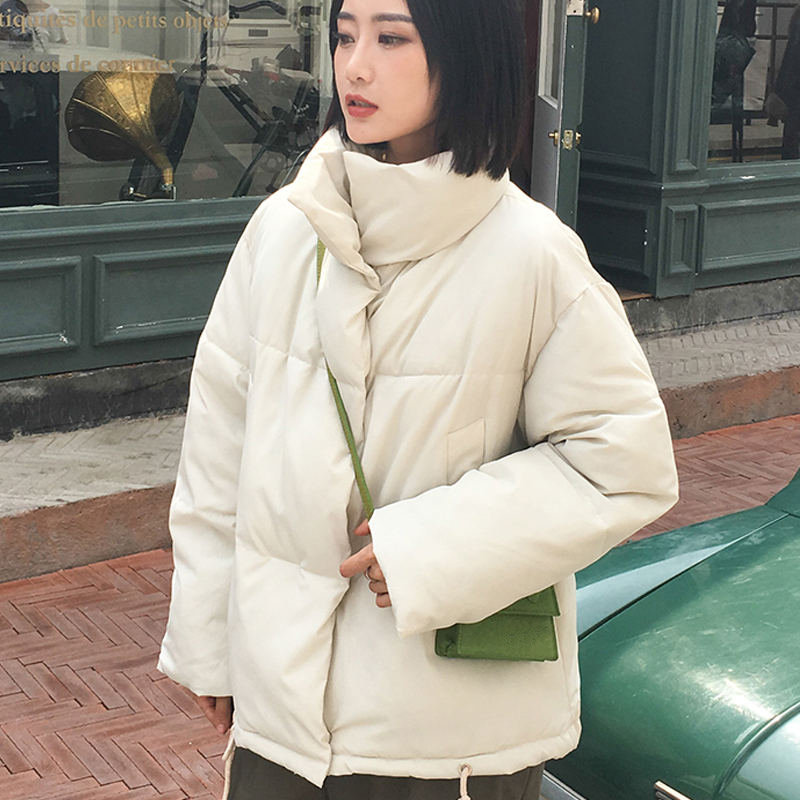 Autumn Winter Jacket Women Coat Fashion Female Stand Winter Jacket Women Parka Warm Casual Plus Size Overcoat Jacket Parkas Q811 10