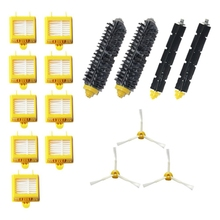 цена на Replacement Parts Kit For Irobot Roomba 700 Series 760 770 780 790 Vacuum Accessories Includes Bristle Brush & Flexible Beater