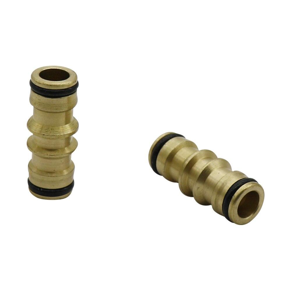 Garden Brass Bidirectional Quick Connect Hose Maintenance Tool Adapter Garden Irrigation 5/8