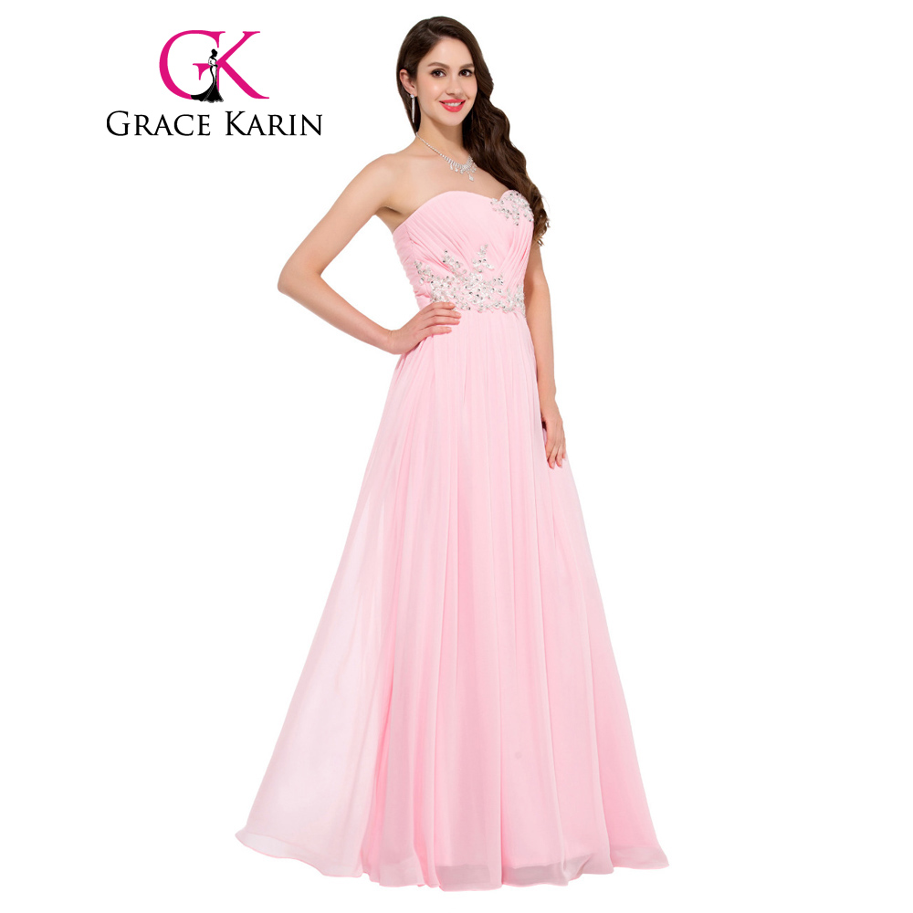 Grace karin vestido de noche 2017 sin tirantes de vestidos de encaje ...
