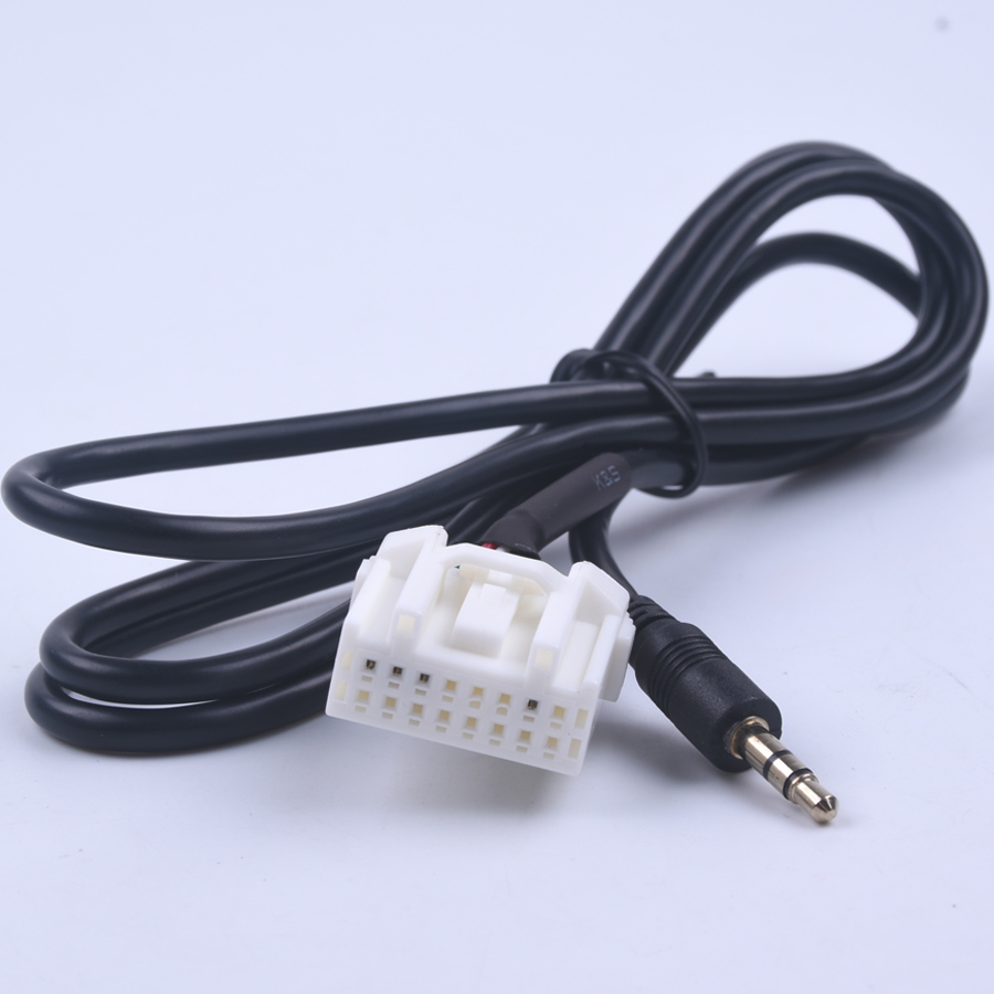 New Jack AUX Audio MP3 Player Input Adapter Cable For Mazda 6/M6/M3 1Pcs 3.5mm цены