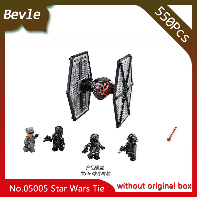 Bevle Store LEPIN 05005 550Pcs star space First order Special ForcesTIE Fighter Building Block Bricks For