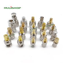 лучшая цена ALLiSHOP 20 kit RP SMA Adapter connector SMA to N SMA to BNC SMA to TNC RF Coaxial connectors male female M/F conector