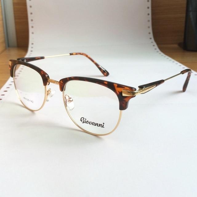 Retro & Vintage Acetate Women Men Eyeglasses Frame Prescription Glasses Optical Frame  Full Rim Cat Eye Shape Oculos degrau90066