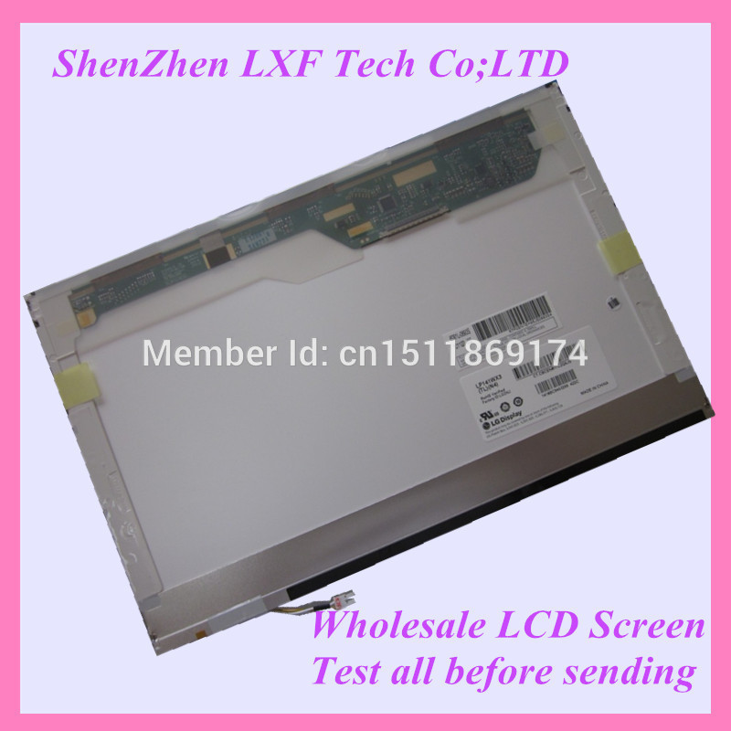 FOR HP 6531S 6530B 6535S 6535B CQ40 14.1'' laptop LCD screen LP141WX3 CLAA141WB05A B141ew04 B141EW02