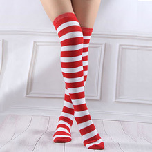 Anime Cosplay Striped Stockings