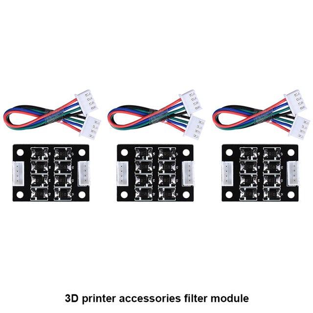4 шт Новый TL-гладкой V1.0 дополнительный модуль для 3D Пинтер для Драйвер шагового двигателя 3d принтер части