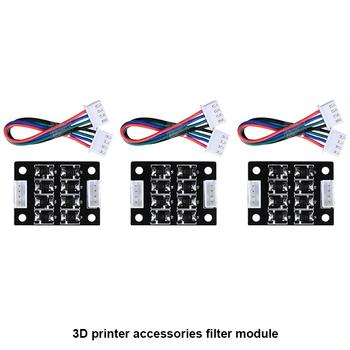 4 szt Tl-smoother V1 0 moduł dodatkowy do pintera 3D do części drukarki 3d sterownika krokowego tanie i dobre opinie BIQU Płyta główna TL-Smoother addon module 40*30mm 12V 24V 1A-1 5A Black Guangdong China (Mainland) In stock