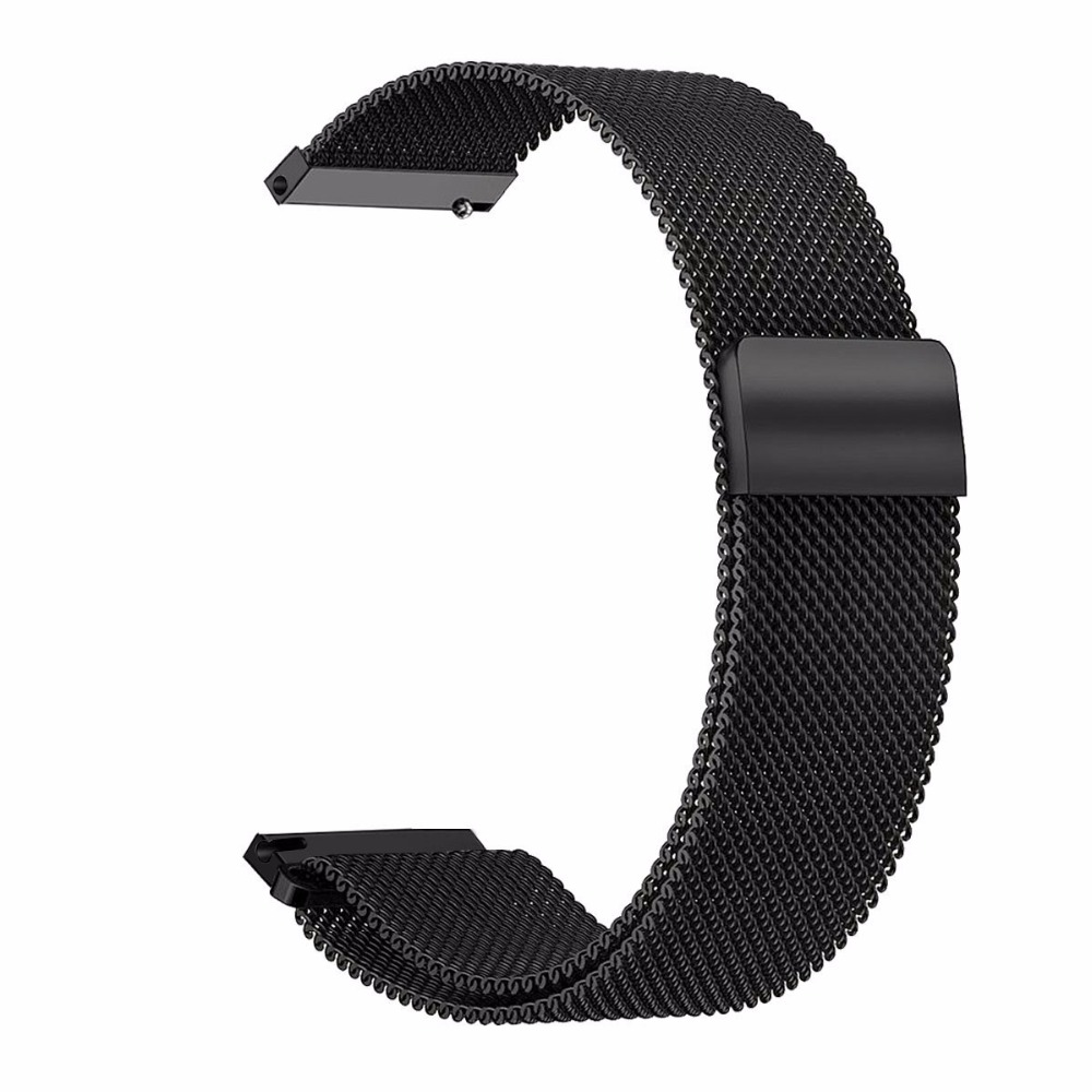 VIGOSS 20MM Milanese WATCH BANDS For Samsung Gear Sport Band Stainless Steel Metal Bracelet For Samsung Galaxy Gear Sport Strap