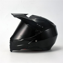 Carbon Painting Full Face Motorcycle Helmet Racing Motocross Off Road Kask Casco De Moto Motociclista DOT Approved