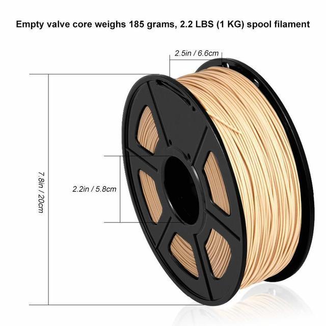 Фото 175 мм нить для 3d принтера из древесного волокна экологическая цена
