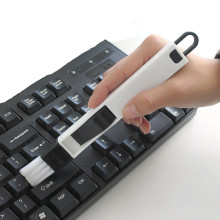 1 шт. многоцелевой школьный офисный стол набор Компьютерная клавиатура Чистящая Щетка Очиститель 2 в 1 Канцелярский инструмент