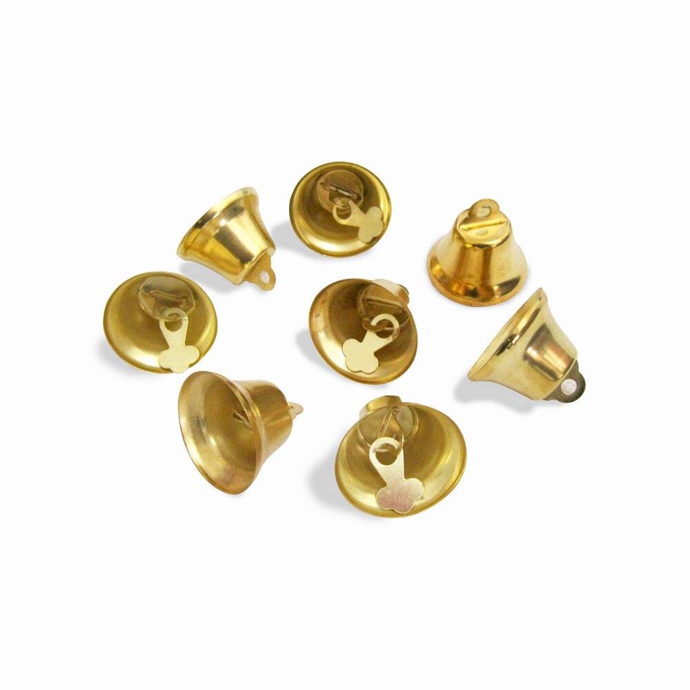 5000 шт. маленькие колокольчики для рукоделия, мини колокольчики, Золотые Серебряные подвесные металлические колокольчики, Свадебные Рождественские украшения, аксессуары - 5