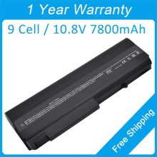 7800mah laptop battery for hp Business Notebook NC6220 NX6315 NC6230 HSTNN-UB18 395791-003 446398-001 HSTNN-XB11 395791-132
