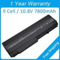 7800mah laptop battery for hp Business Notebook NC6220 NX6315 NC6230 HSTNN UB18 395791 003 446398 001 HSTNN XB11 395791 132