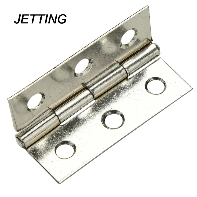 JETTING Stainless steel Cabinet Door Hinge 6 Holes Boat