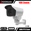 DONGJIA DJ-AHDPTZ502-A20 2016 New Model IMX322 2MP 10X Optical Zoom Waterproof IR 50M 80M AHD Bullet PTZ Camera Night vision
