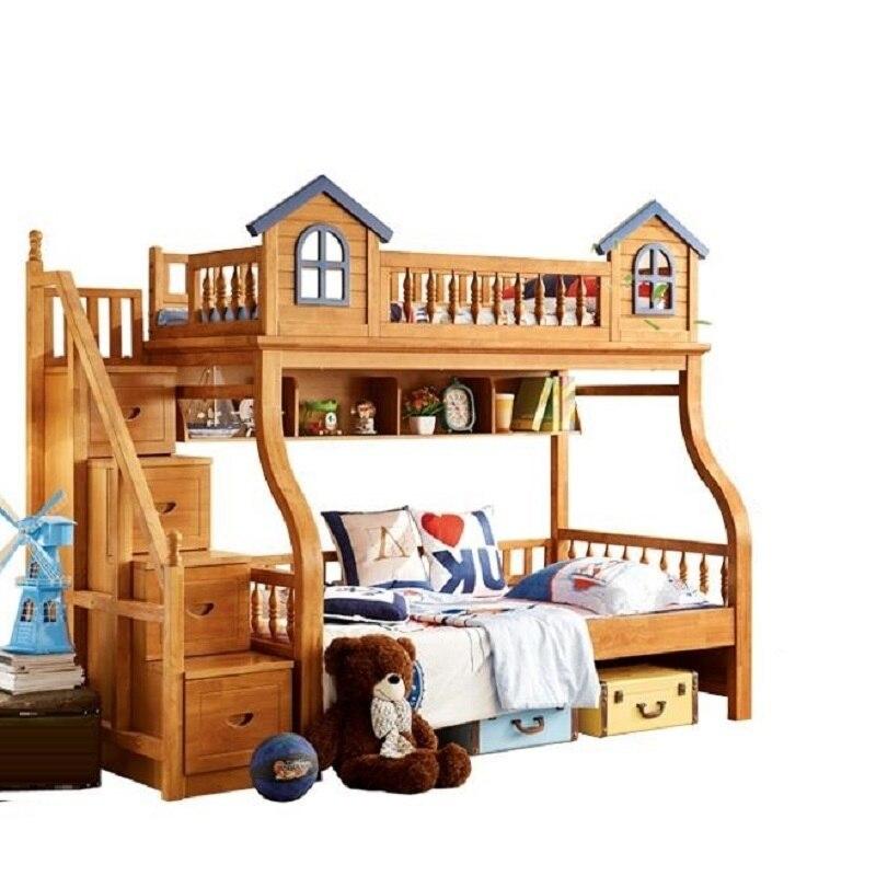 Recamaras Moderna Yatak Odasi Mobilya Box Frame Meuble Maison Modern bedroom Furniture Cama Mueble De Dormitorio Double Bunk Bed