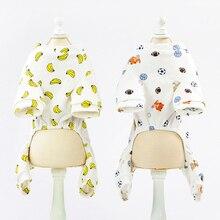 Super stylish cotton Yorkie overalls / pajamas