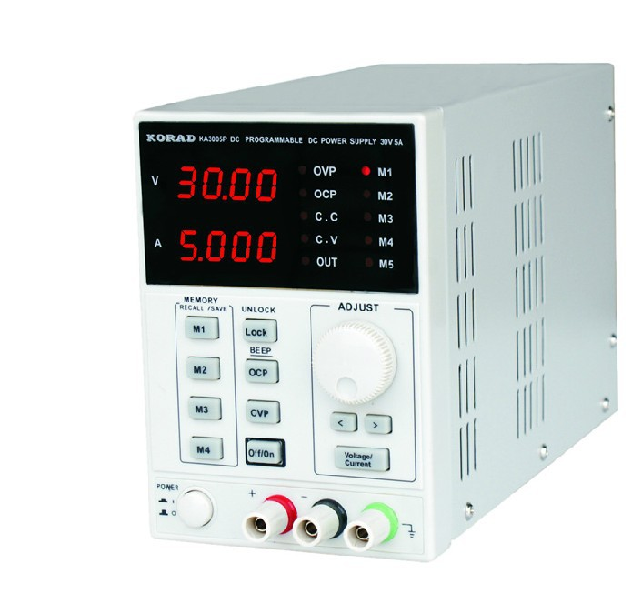 KA3005D high precision Adjustable Digital DC Power Supply 4Ps mA 30V/5A for scientific research service Laboratory цена 2017
