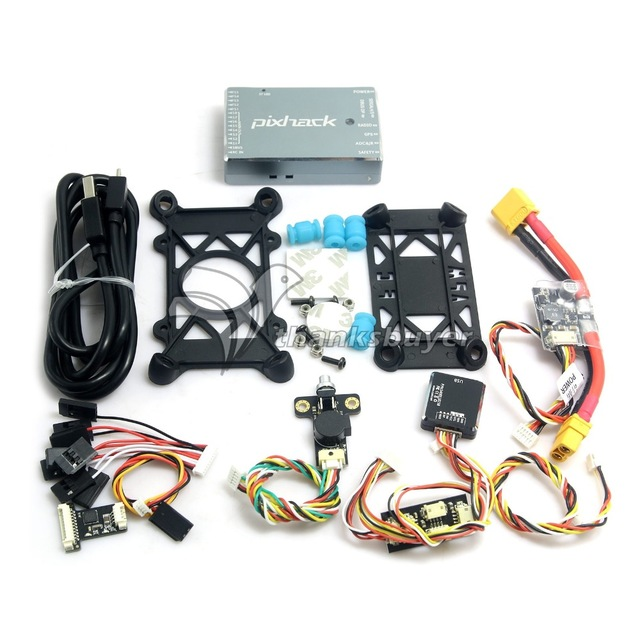 CUAV Pixhack 2.8.3 Version Flight Control with NEO-M8N GPS PPM Combo for Quadcopter Multicopter