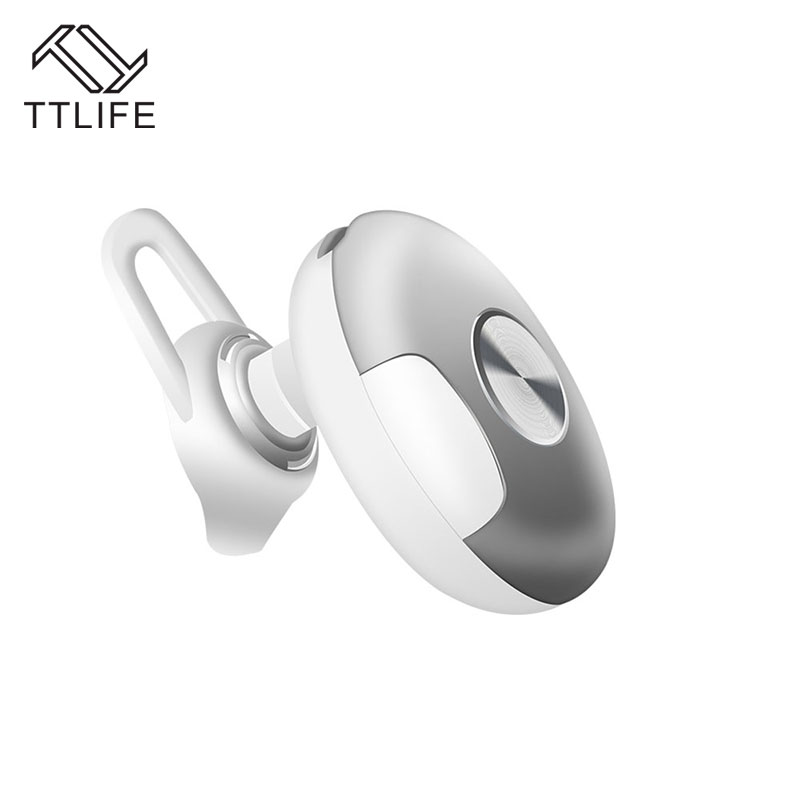 TTLIFE Original Ear Hook mini Bluetooth Earphone Sports Stereo Wireless Bluetooth 4.1 Headphones Handfree with mic for xiaomi stereo mini bluetooth wireless ear hook headset headphones earphone v4 0 handfree universal with mic for mobile phone