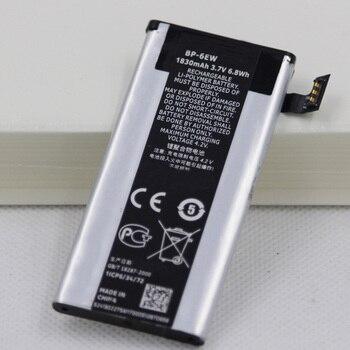 20pcs/lot BP-6EW Internal Cellphone Battery For Nokia Lumia 900 N900 Lumia900 1830mAh BP6EW Mobile phone replacement battery