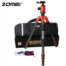 ZOMEI Z818C Camera Tripod & Monopod Carbon Fiber Travel with 360 Degree Ball Head and Bag for SLR DSLR Digital