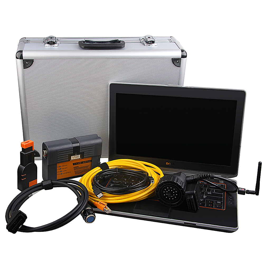 For BMW ICOM A2 B C + I5 Laptop E6420 + HDD Full Set ISTA 2017 For BMW ICOM A2 Best Diagnostic Tool Interface Support Wifi !!