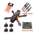 Reptil marciano 220/250mm de fibra de carbono quadcopter con motor y littlebee rs2205 30a esc & sp racing f3 evo & propeller fpv