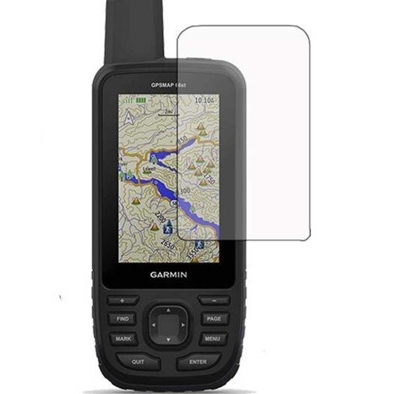 3pc PET Clear Screen Protector Cover Protective Film Guard For Garmin GPSmap 66st 66 66s 66sc Handheld GPS Navigator Tracker