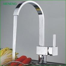 NIENENG горячей продажи смеситель для кухни кухонная раковина мытья смеситель водопроводной воды здоровый робине torneiras смесители блюдо стиральная краны ICD60155