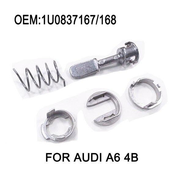 Pour Audi A6 VW Polo 9N/Golf IV 4/Bora Voiture Porte Serrures Barrel Kit De Réparation Avant Gauche Droite 2001 +