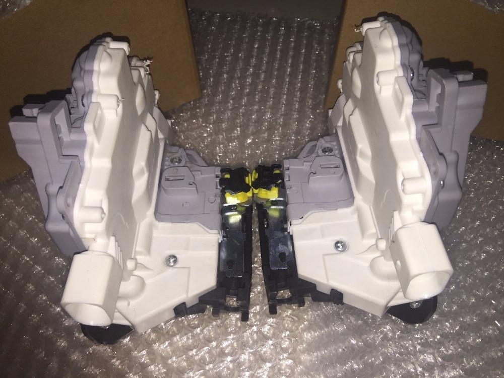 pair 2 pieces REAR LEFT + RIGHT FOR SEAT Leon  Door Latch Mechanism / Door Lock Actuator 1P0839015 1P0 839 015 016 1P0839016 1 pair massage slipper 2 pieces 2 pin