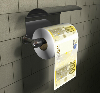 24k gold toilet paper. Aqumotic Money pattern rolls toilet paper USD EUR Sudoku Funny Creative  Gifts birthday present high quality US dollars in Gold Banknotes from Home Garden The Best 100 24k Toilet Paper Image Collections deathgrip us