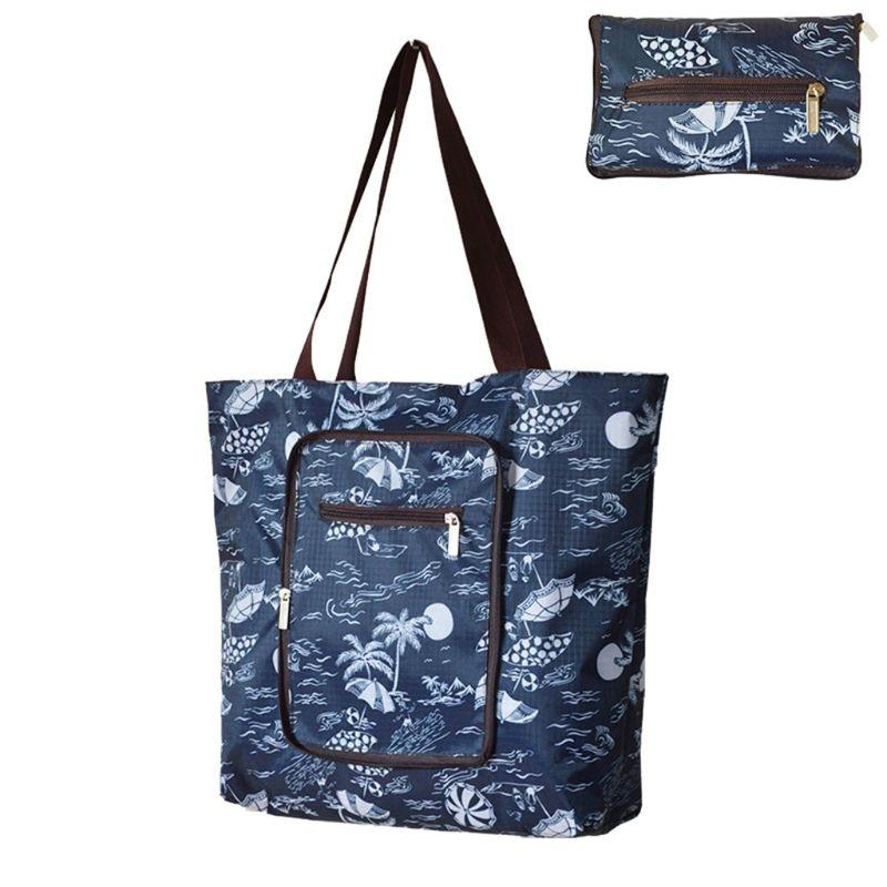 Oxford Shopping Bag WoMan Reusable Tote Foldable Shopper Fashion Travel Organizer Shoulder Bags  Housewife Shopping Bag