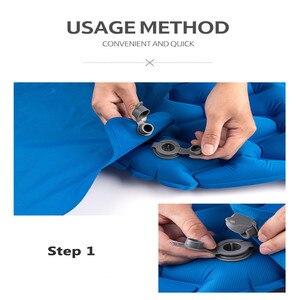 Image 2 - Naturehike Waterproof Inflatable Cushion Universal Air Bag Portable Easy Inflatable Bag Moisture proof Picnic Cushion Air bags