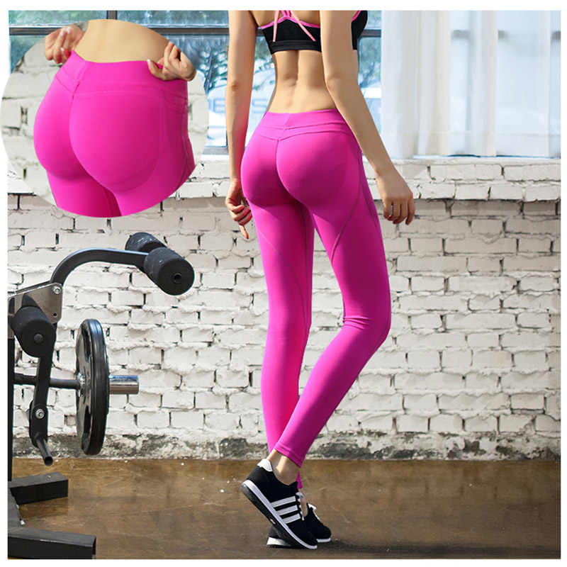 3bc2ad83cb379 Seamless Leggings Tight Breathable Quick drying Fitness Pants Large Fitness  Yoga Pants Women Girl for Fitness