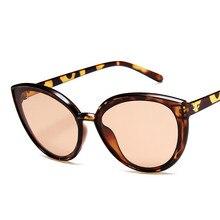 Fashion Cat Eye Sunglasses Women Brand Designer Vintage Trend Sun glasses Ladies Light Plastic Frame Colorful Glasses все цены